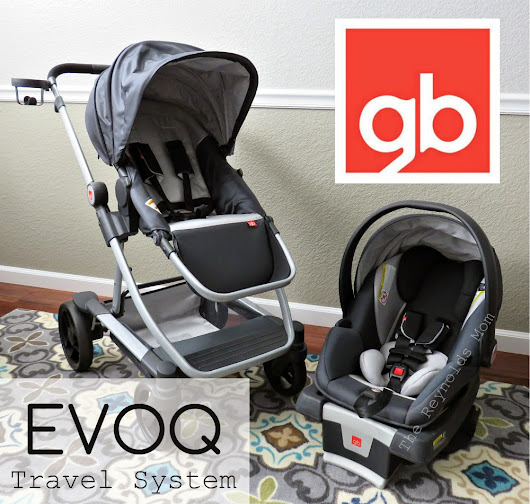 The Reynolds Mom - Sacramento, Roseville, California Blogger: Strolling in Style with the GB Evoq Travel System