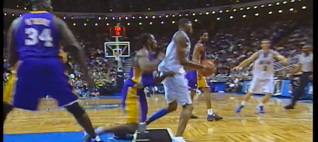 THROWBACK: T-Mac Fakes Out Kobe, Bryant Responds With Sick Dunk! (VIDEO)