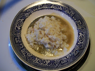 Rice pudding with sweet sauce, Sarah Hale's Modern Household Cookery 1854