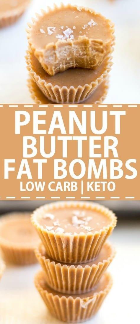 Peanut Butter Fat Bombs