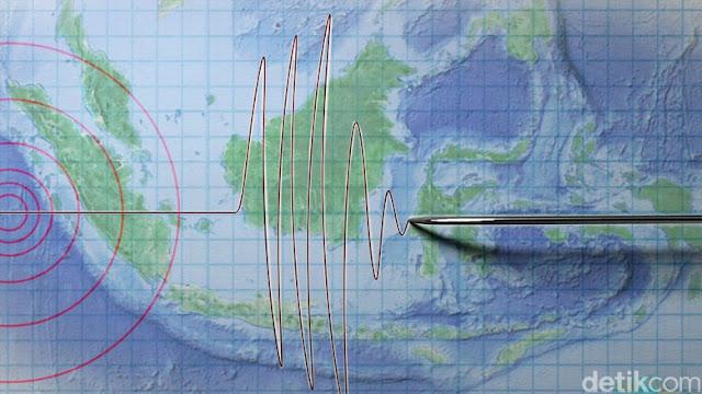 Baru saja Gempa Keras Guncang Jakarta