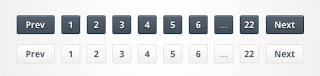 komponen paginasi halaman pada blog
