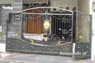 Daftar Harga Pintu Pagar Besi Semi Tempa Murah dan Berkualitas