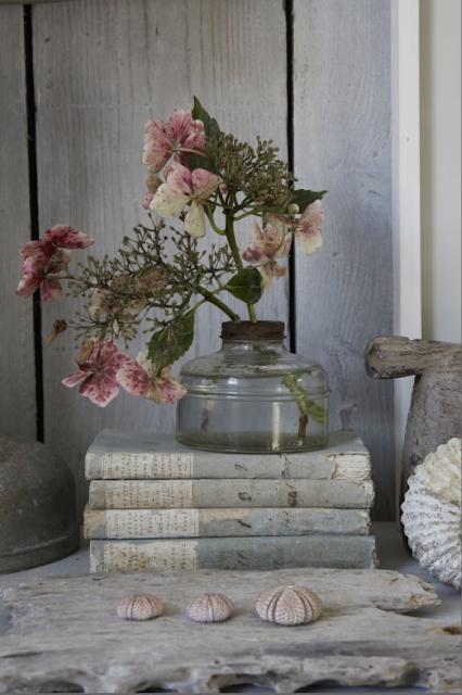 flores decoración vintage