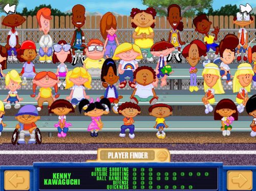 Buy PC/Mac Games: Backyard Basketball