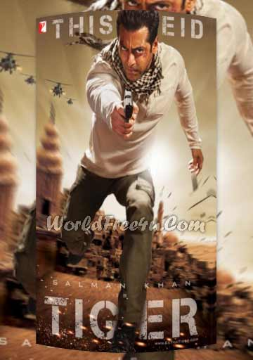 Poster Of Ek Tha Tiger (2012) Hindi Movie Theatrical Trailer Free Download Watch Online At worldofree.co