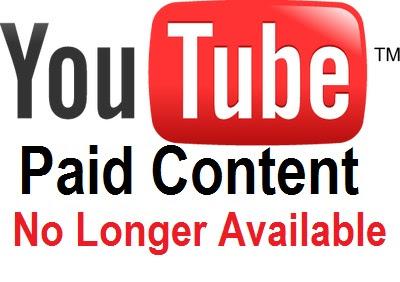Google Tutup Konten Berbayar Youtube