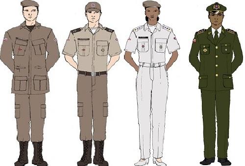 Já está em vigor o novo regulamento de uniformes da Polícia Militar da  Bahia. A mudança prevê ajustes principalmente na composição dos  fardamentos f434664030d73