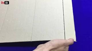 Kerajinan tangan dari kardus bekas