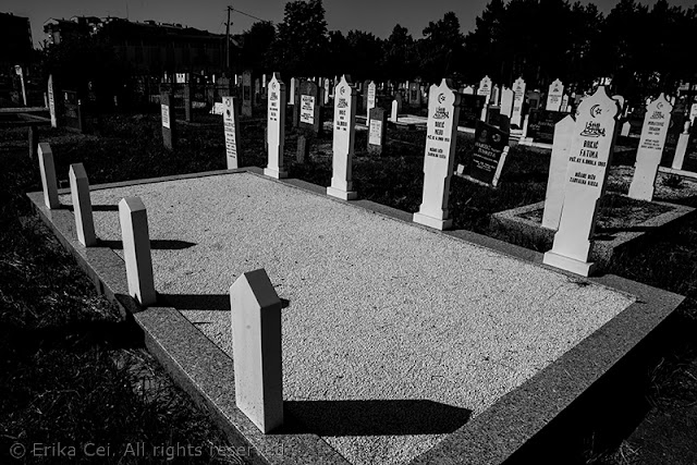 cimitero musulmano Bijeljina Bosnia