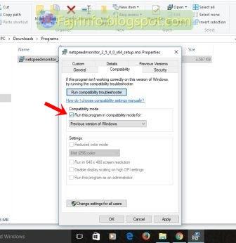 NetSpeedMonitor Windows 10