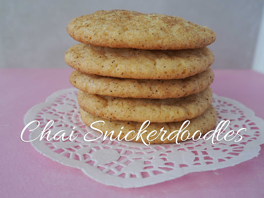 {life behind the purple door}: Chai Snickerdoodles