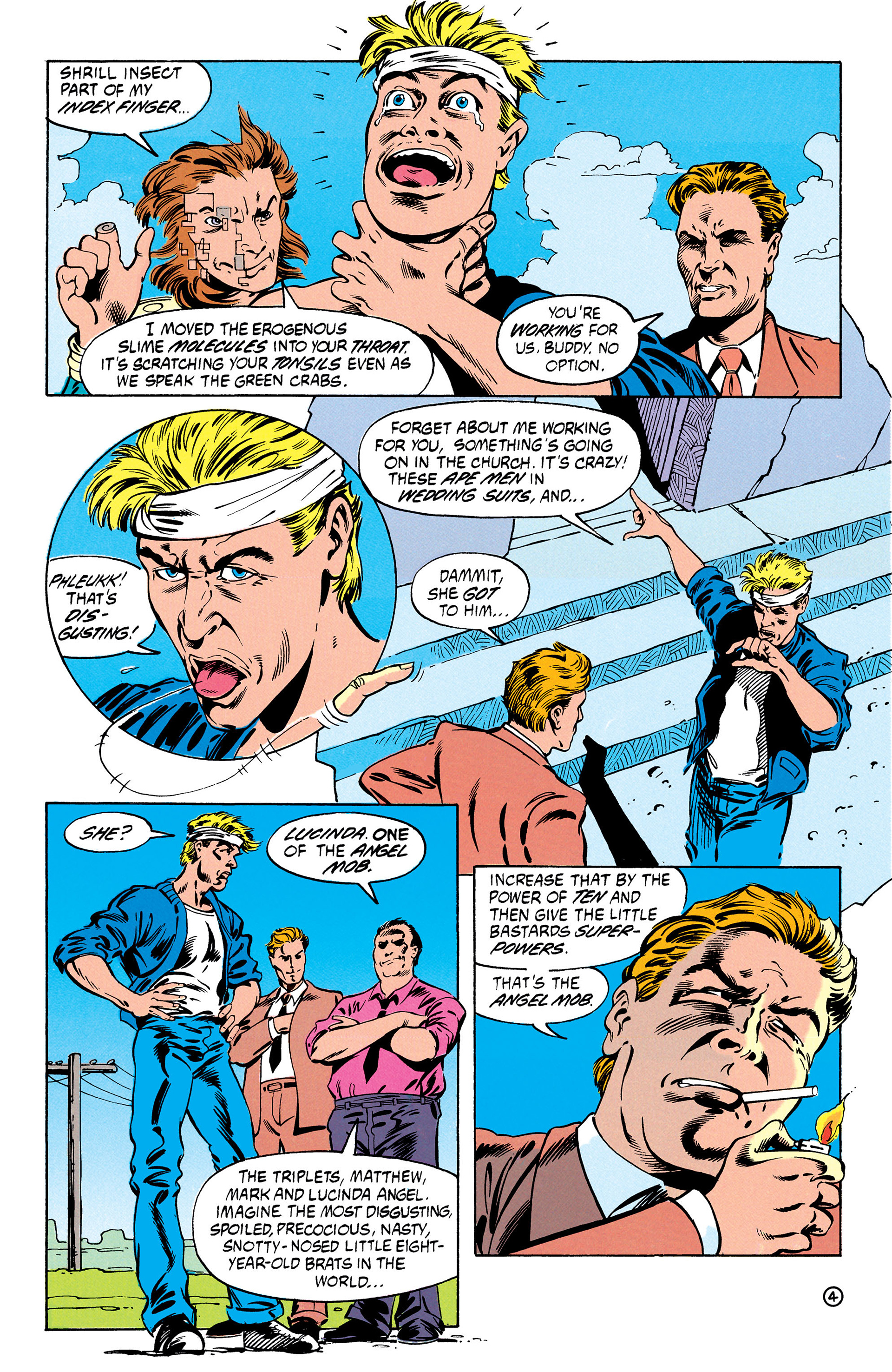 Read online Animal Man (1988) comic -  Issue #30 - 5