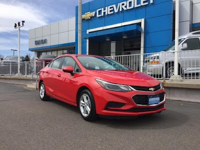 Certified Pre-Owned 2017 Chevy Cruze at Emich Chevrolet