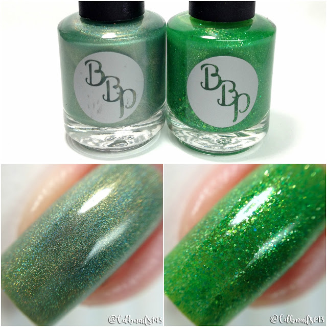 Bad Bitch Polish-August Birthstone Duo