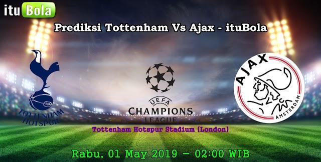 Prediksi Tottenham Vs Ajax - ituBola