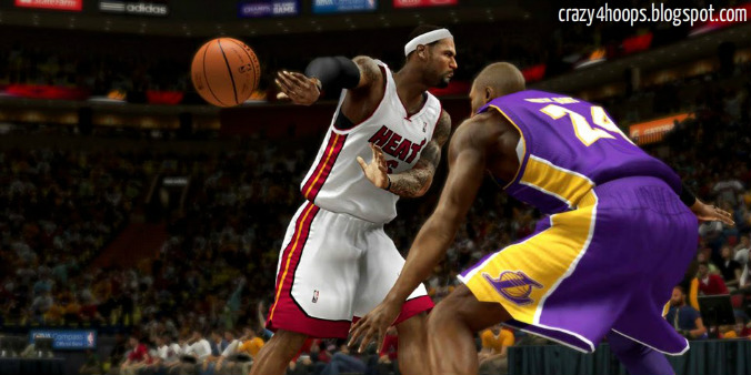 NBA 2k14 New Pro Stick Control : No Look Pass, New Passing System
