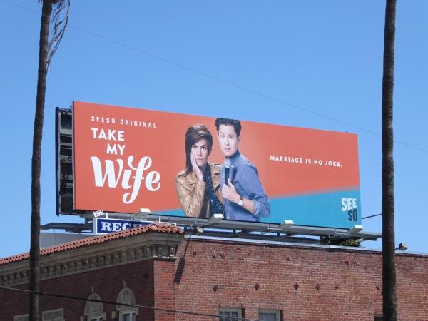 Take My Wife series premiere billboard