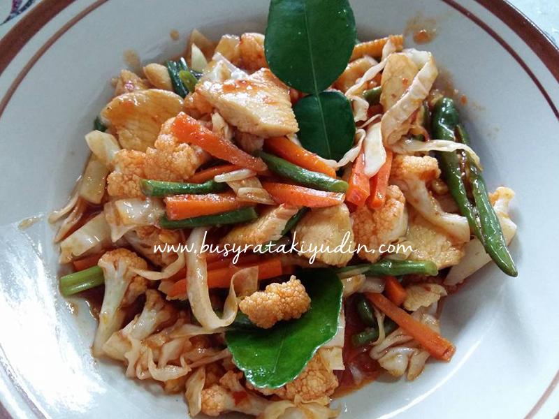 Resepi Ayam Paprik Ala Thai