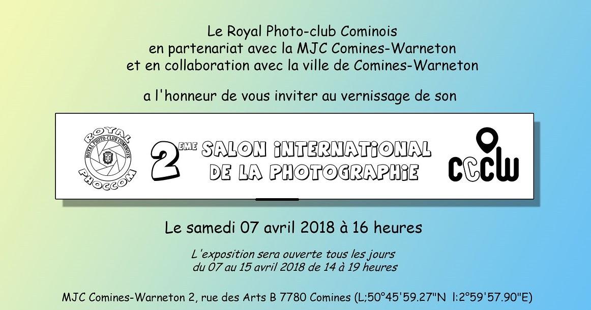 Agenda mjc salon de la photographie royal photo club - Salon international de la photographie ...