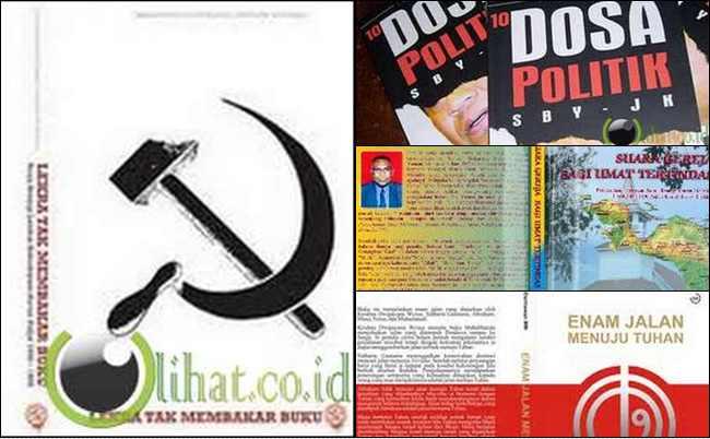 5 Buku Lokal Kontroversial yang Dilarang Terbit di Indonesia