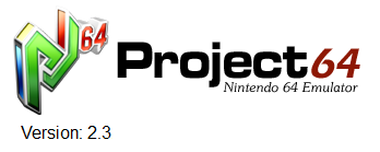 Descarga el emulador de Project64 2.3 portable