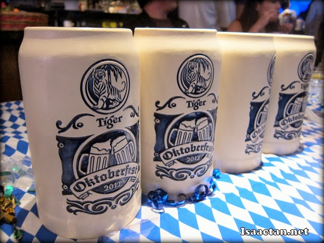 The mugs from last year's GAB Oktoberfest Malaysia 2012, be ready for a new design this year!