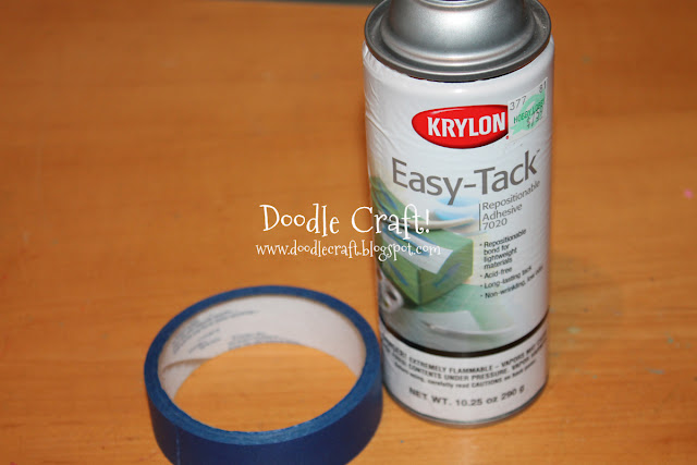 Easy-Tack - Stenciling And Staining