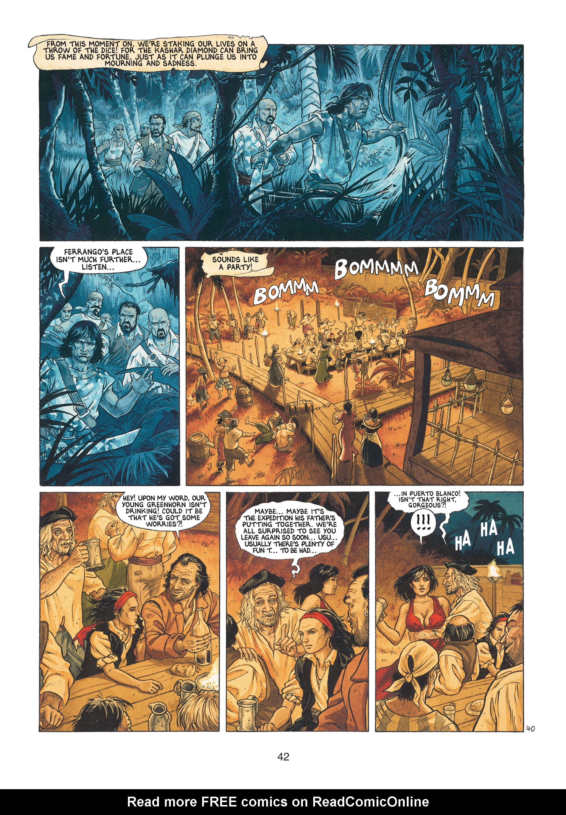 Read online Barracuda comic -  Issue #1 - 42