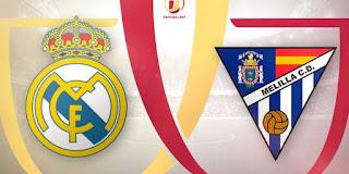 مباراة ريال مدريد مليلية مباشر