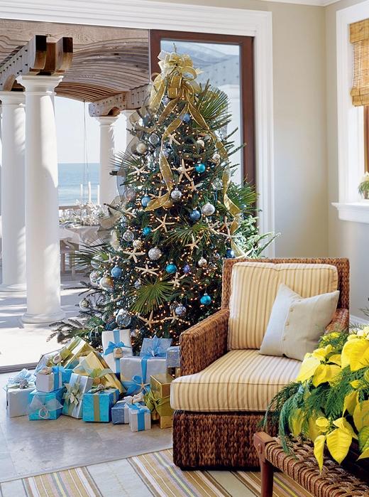 Coastal Living Magazine Christmas Trees