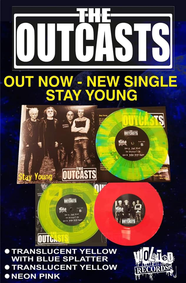"The Outcasts ""Stay Young"" 7""/CDEP"
