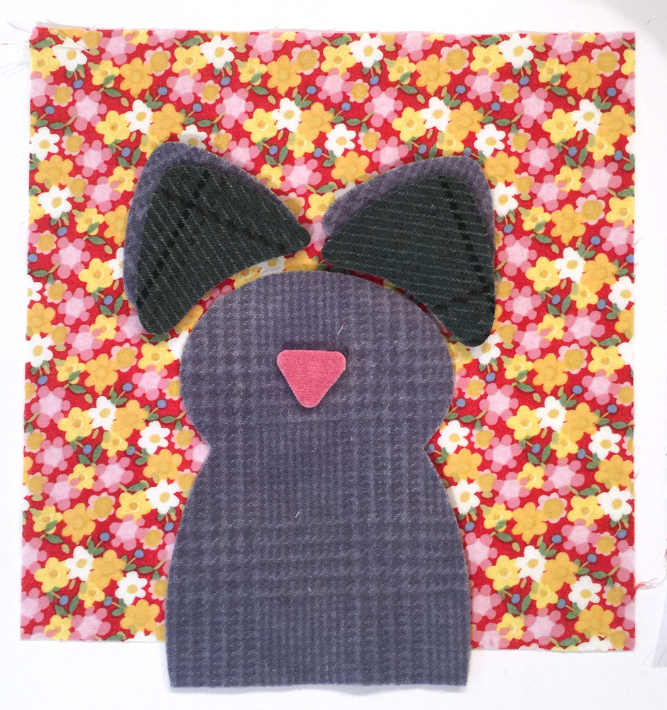 Jennifer jangles diy wool applique animal embroidery