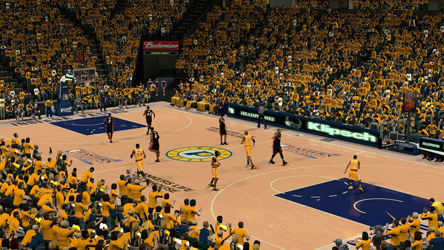 NBA 2K14 Pacers vs Heat ECF