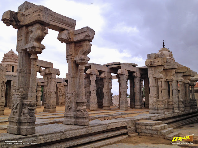 Veerabhadra Swamy Temple complex at Lepakshi