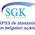 SGK, EKPSS ile atananlardan istenen belgeleri açıkladı