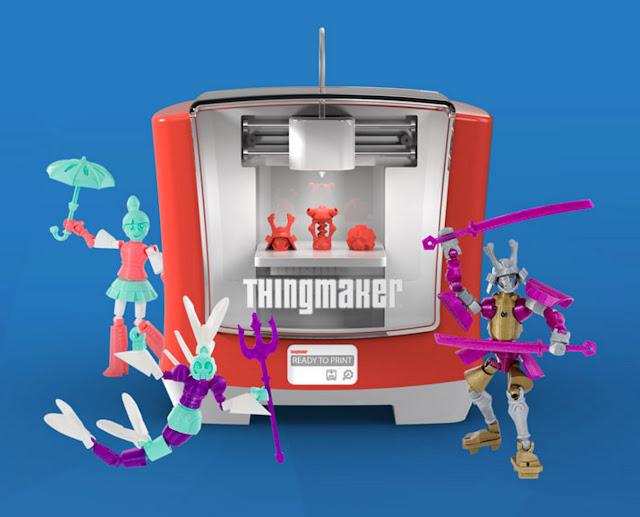 Green Pear Diaries, diseño, niños, Mattel, ThingMaker, impresora 3D para niños