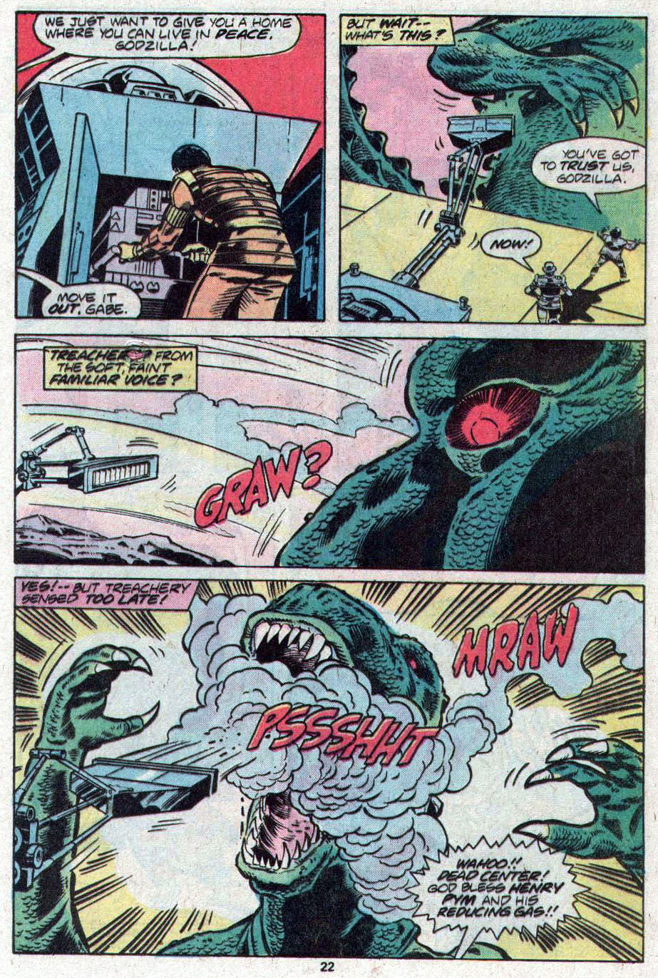 Godzilla (1977) Issue #17 #17 - English 13