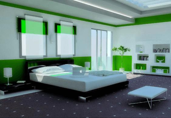 cat kamar tidur anak laki laki