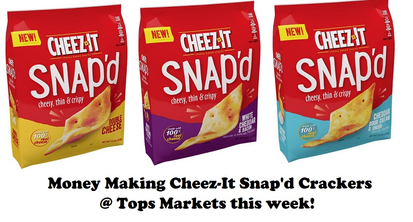 photograph relating to Cheez It Coupon Printable named Superior Than Totally free Cheez-Its Snapd Crackers at Tops (superior