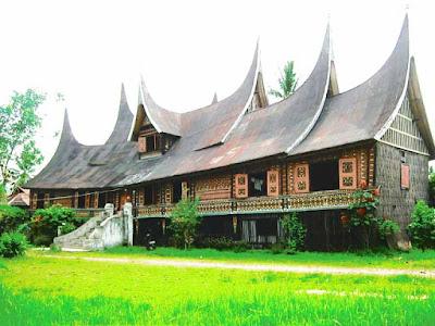 Desain Rumah Adat MinangKabau