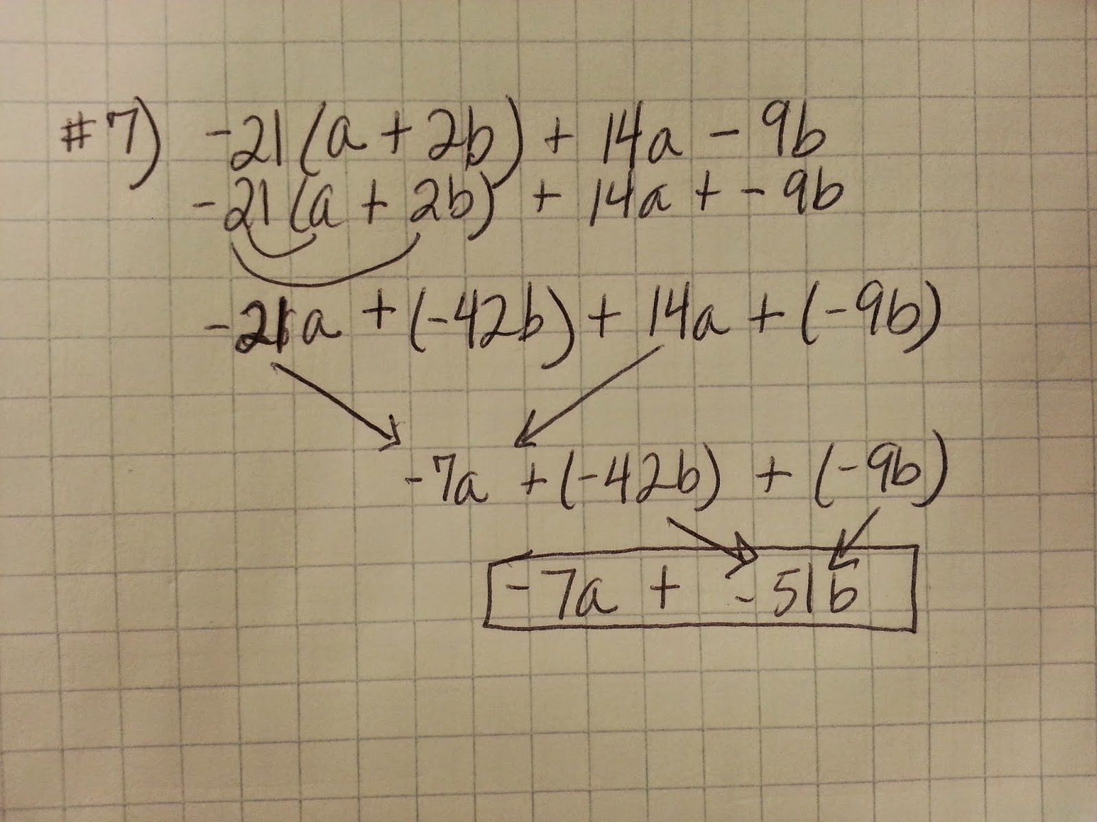 Pre Algebra Worksheet Answers 1