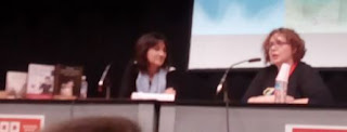 Paloma Sánchez-Garnica y Merche Diolch