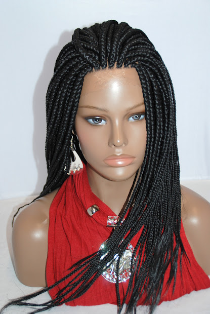 bisola hair braided full lace wigs