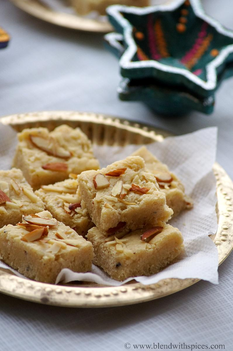7 cup burfi recipe, how to make 7 cup burfi, recipes for deepavali