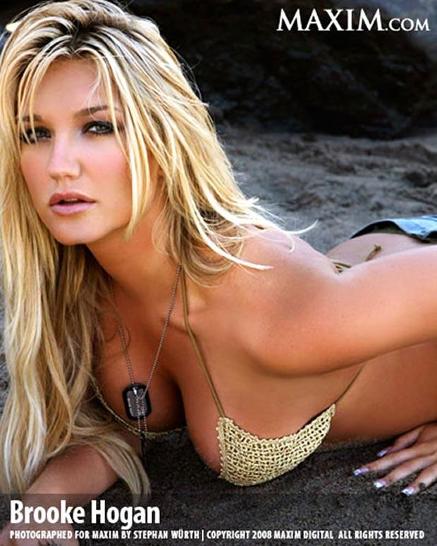 Brooke Hogan Sexiest 45