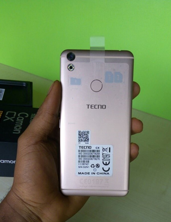 Finally! it is Here! Tecno Camon Cx & Cx Air!! - Applygist Tech News