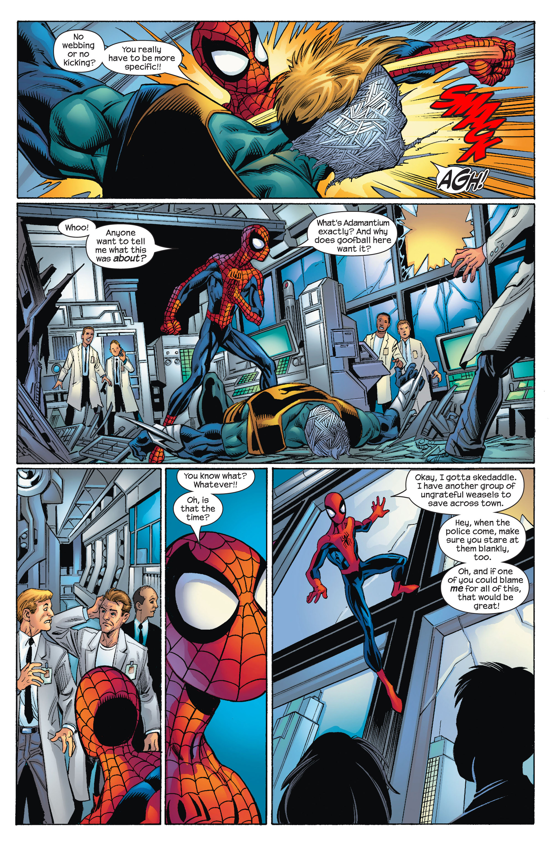 Read online Ultimate Spider-Man (2000) comic -  Issue #72 - 13