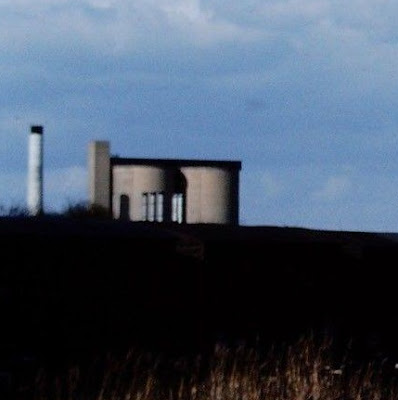 Picture: Brigg Sugar Factory silos in the 1970s. The factory was in neighbouring Scawby parish and closed in the 1990s