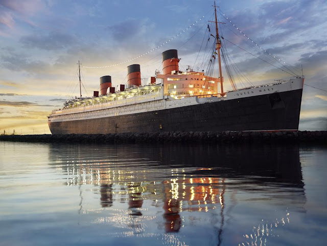 The Queen Mary, Long Beach